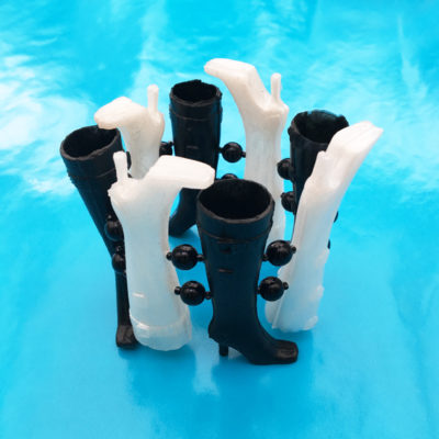 bracelet boots blackwhite 72