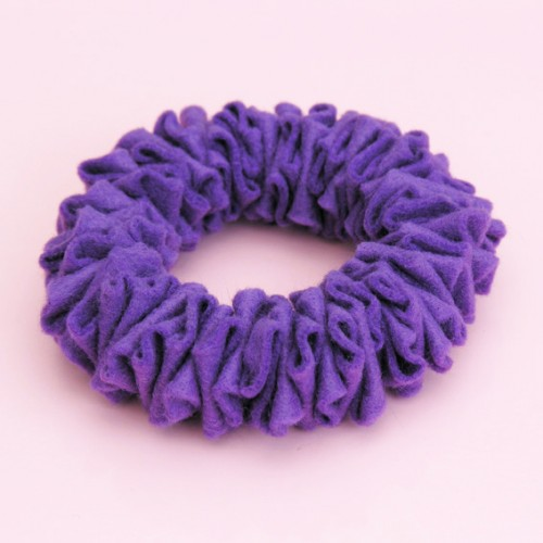 bracelet felt purple 72