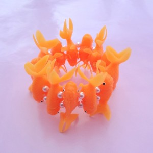 bracelet fish orange light 72