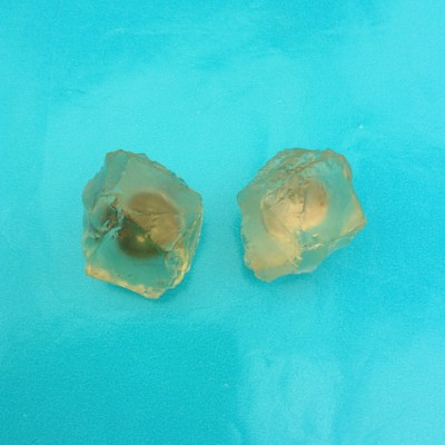 earring chunk transparent 72