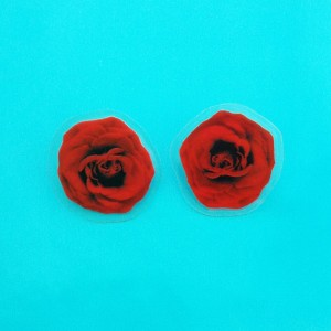 earring lam rose red 72