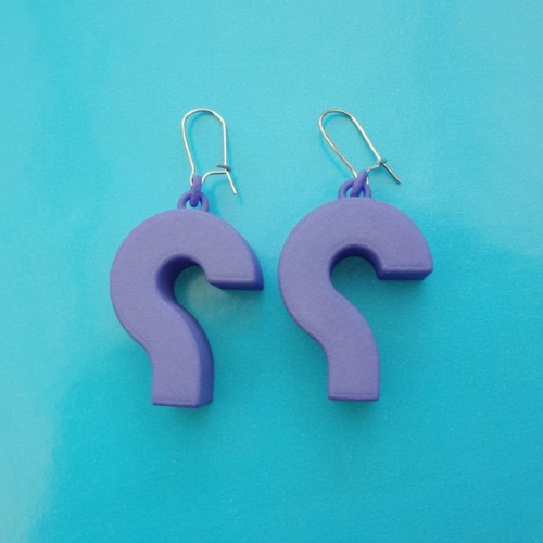 earring question purple 72