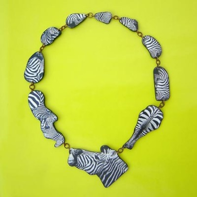 hout hals zebra