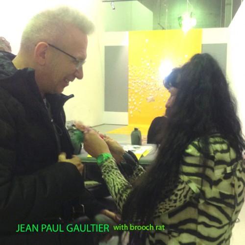 jean paul gaultier naam broche + ineke OK 72