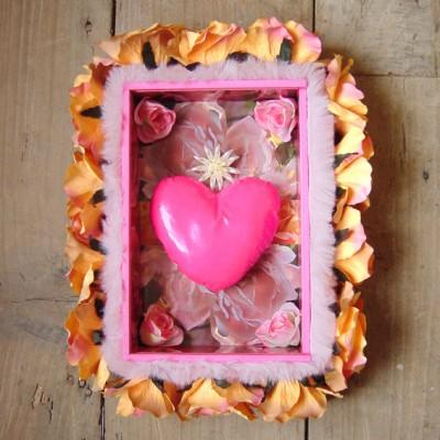 kamer kunstkistje rozen hart 72