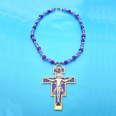 kruis jezus paars 72