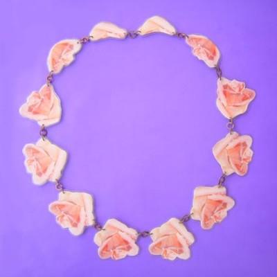 lam hals roze roos 2
