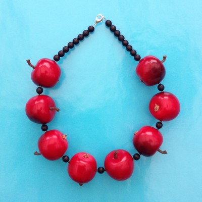 necklace apple red 1 72