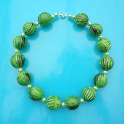 necklace ball greenleaf 72