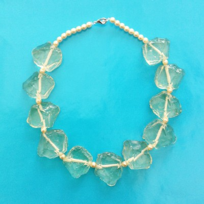 necklace chunk transparent 72