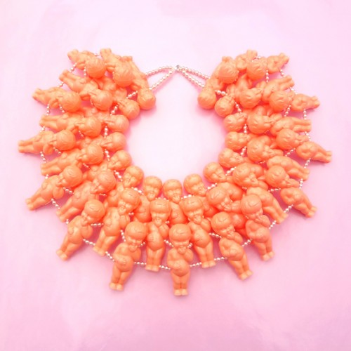 necklace doll showpiece 72