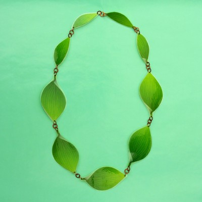 necklace lam leaf 72