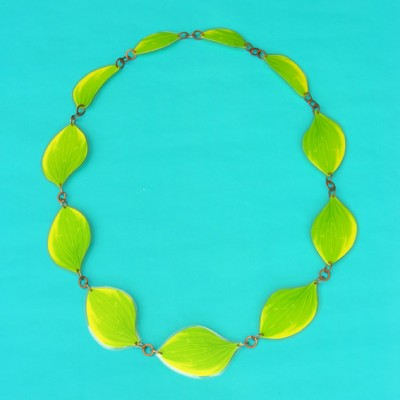 necklace lam leaf little lam 72