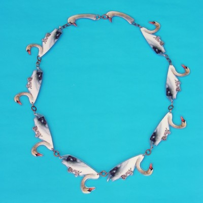 necklace lam swan  72