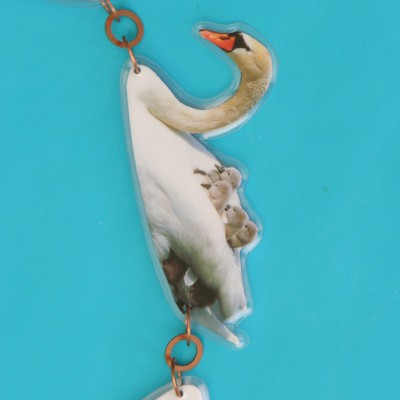 necklace lam swan detail 72