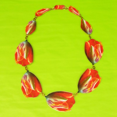 necklace lam tulip large 72