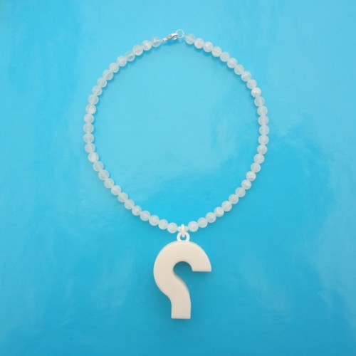 necklace question white 72