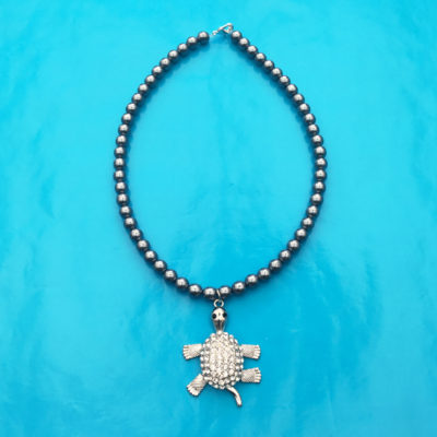 necklace shine bling turtle one 72
