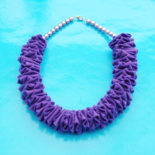 necklace structure purple 72