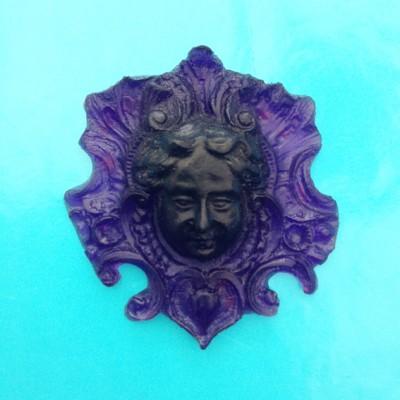 object face resin purple 72