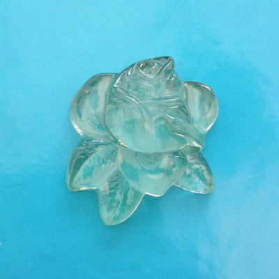 object rose resin transparent 72