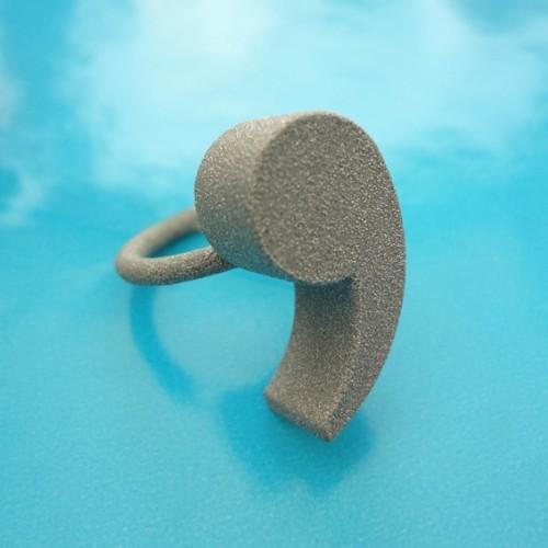 ring comma alumide 72