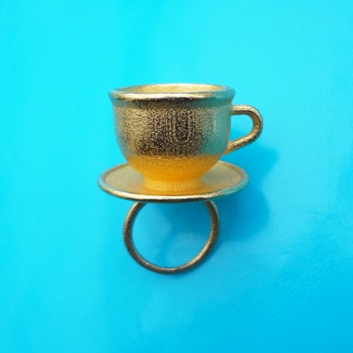 ring cup gold 72