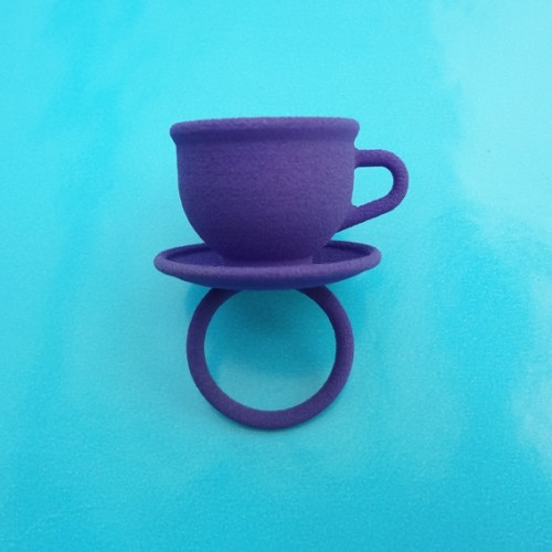 ring cup purple 72