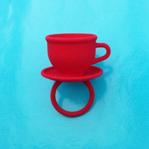 ring cup red OK 72