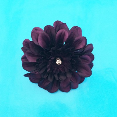 ring flower darkpurple 72