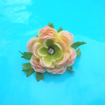 ring flower pink silk 1 72