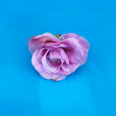 ring flower silk rose pink 72
