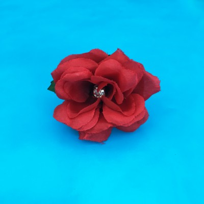 ring flower silk rose red OK 72