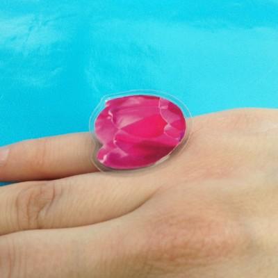 ring lam tulip pink finger 72