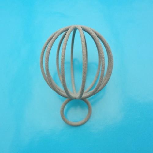 ring pearlball grey 72