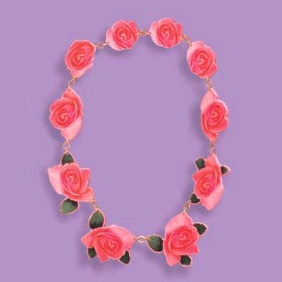 roze rozen hout