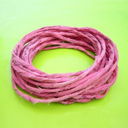 textiel hals roze draai 72