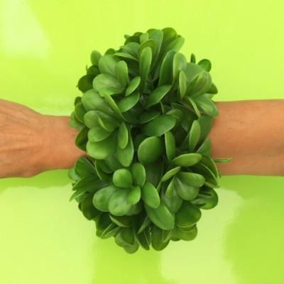 bracelet succulent plant arm 72 groen
