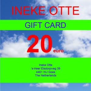 gift card 20 72