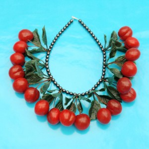 necklace cherry large 72