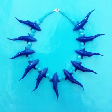 necklace dolphin OK72