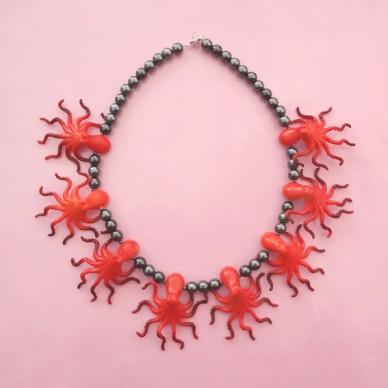 necklace inkfish OK 72