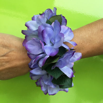 bracelet flower purple 1 72