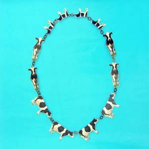 necklace lam cow OK 72