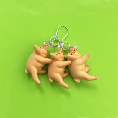 earring pig 3x 72