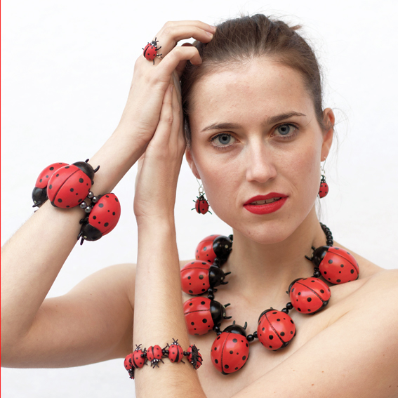 Necklace Ladybird Large| Buy unique design from Ineke Otte ...