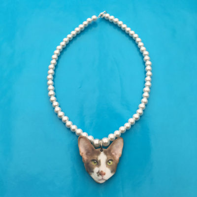 necklace cat one 72