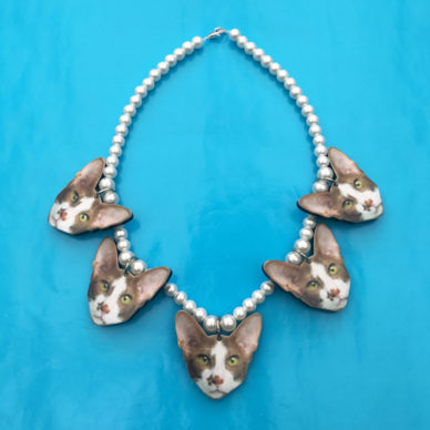 necklace cats 5x 72