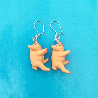 earring animal pig OK 72