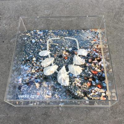 kunstwerk wand oesters 72